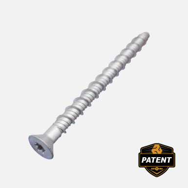 Countersunk concrete screw ETA