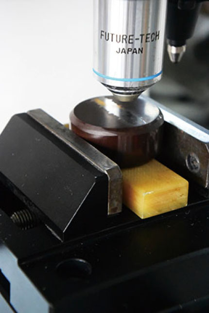 how to test surface hardness