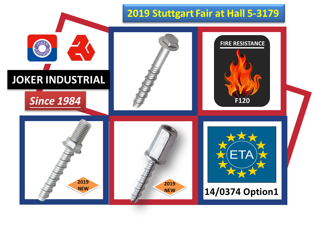 2019 New ETA approved concrete screw type