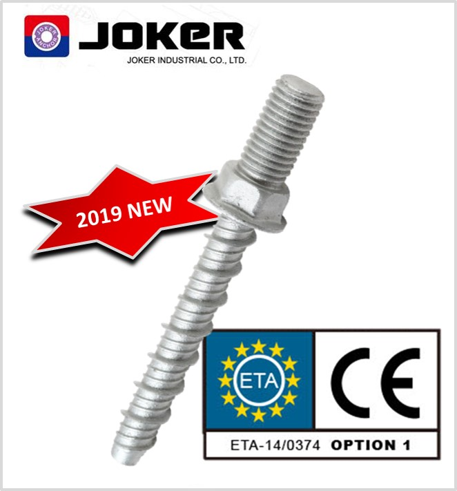 CE ETA outer hanger concrete screws