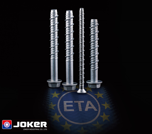 JOKER concrete screw ETA approval